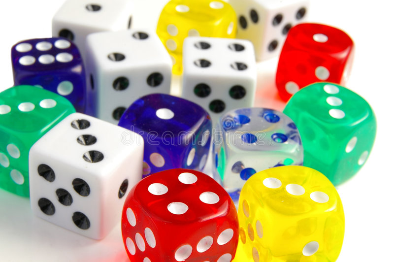 Download Dice closeup stock photo. Image of leisure, play, recreation - 1998896