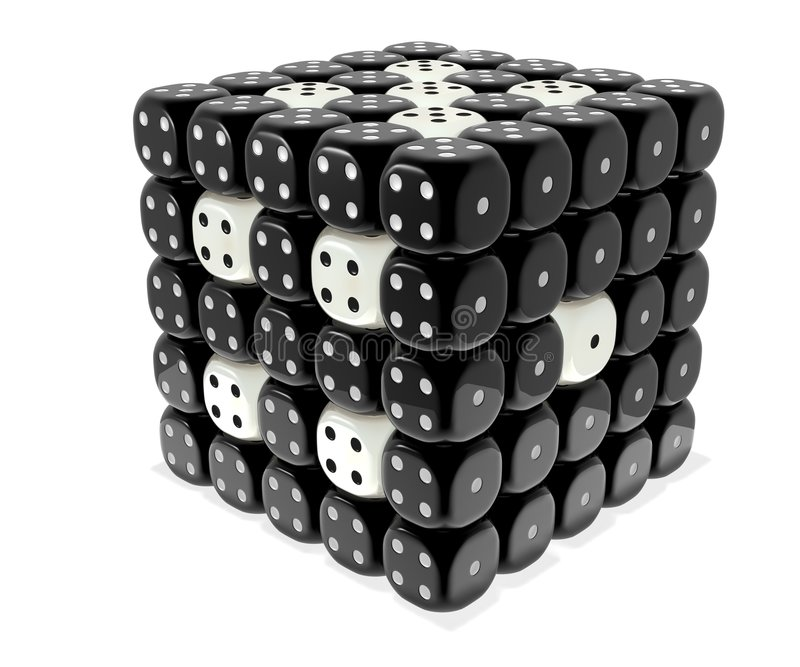 Dice royalty free stock photography