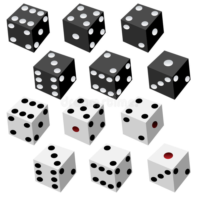 Free Dice Collection Royalty Free Stock Photo - 11030165