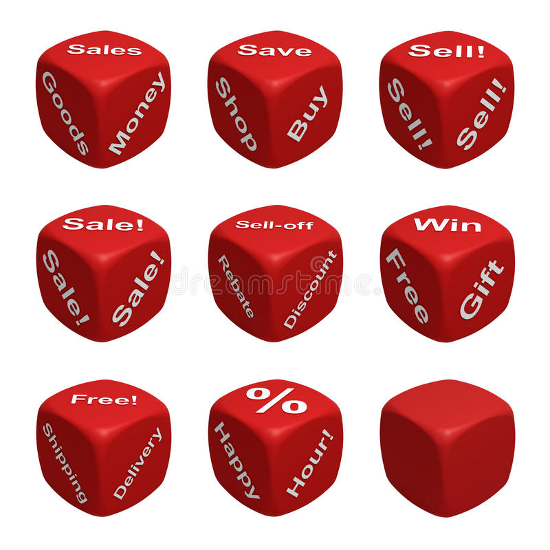 Download Dice Collection Two - Retail Royalty Free Stock Images - Image: 19171789