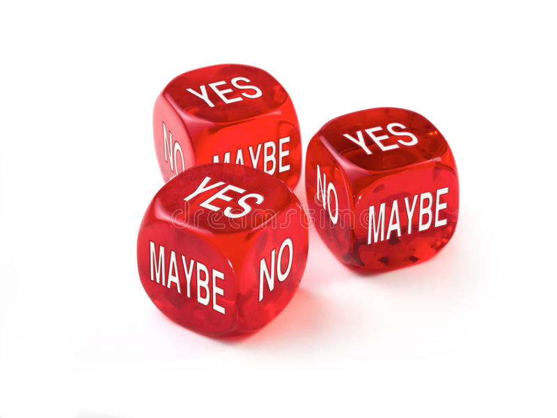 Dice Concept royalty free stock image