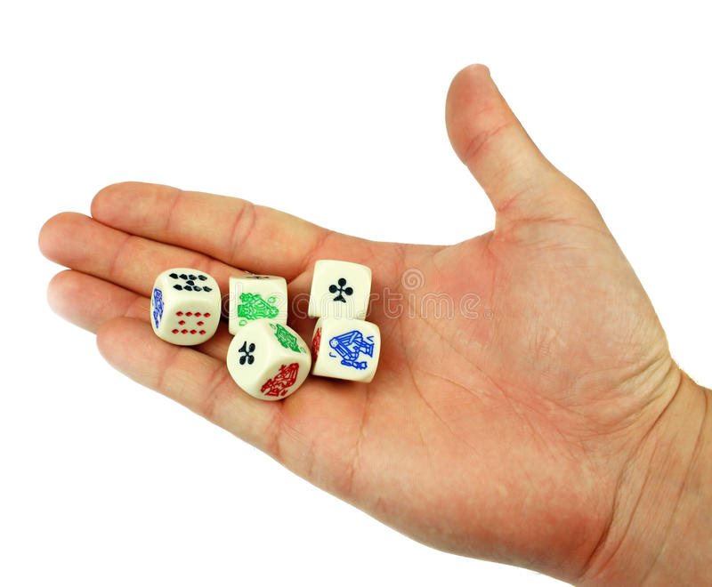 Download Dice in hand stock photo. Image of entertainment, activity - 30919792