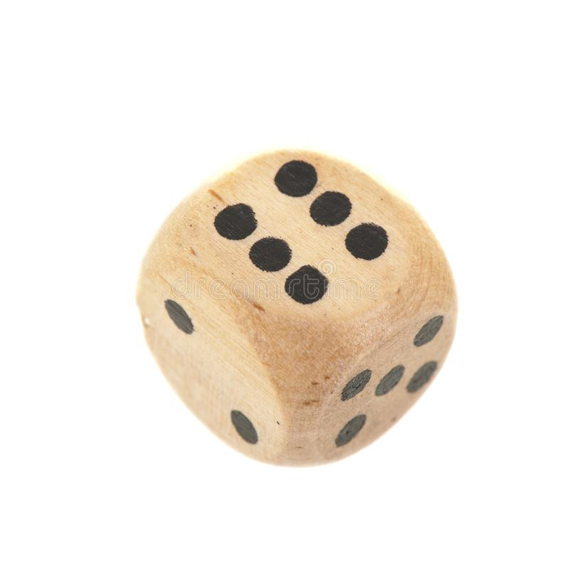Dice isolated over white background stock images