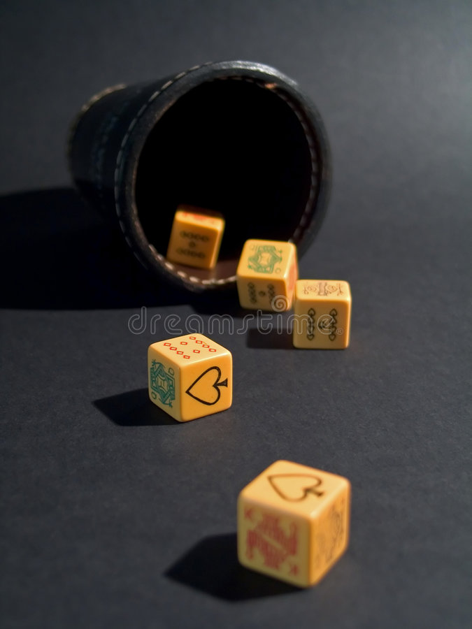 Download Dice Poker stock image. Image of dices, poker, game, full - 464409