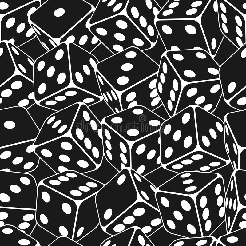 Free Dice Seamless Background Pattern Stock Image - 32586331