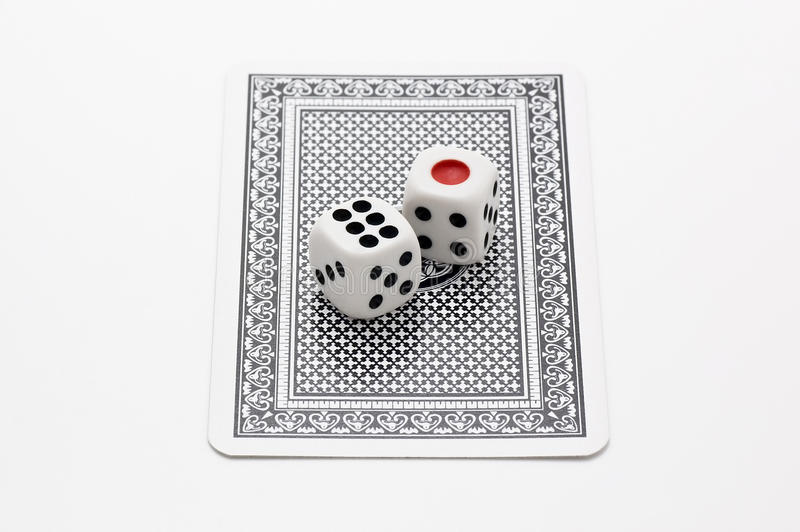Download Dice and Trump stock image. Image of gamble, card, design - 24319303
