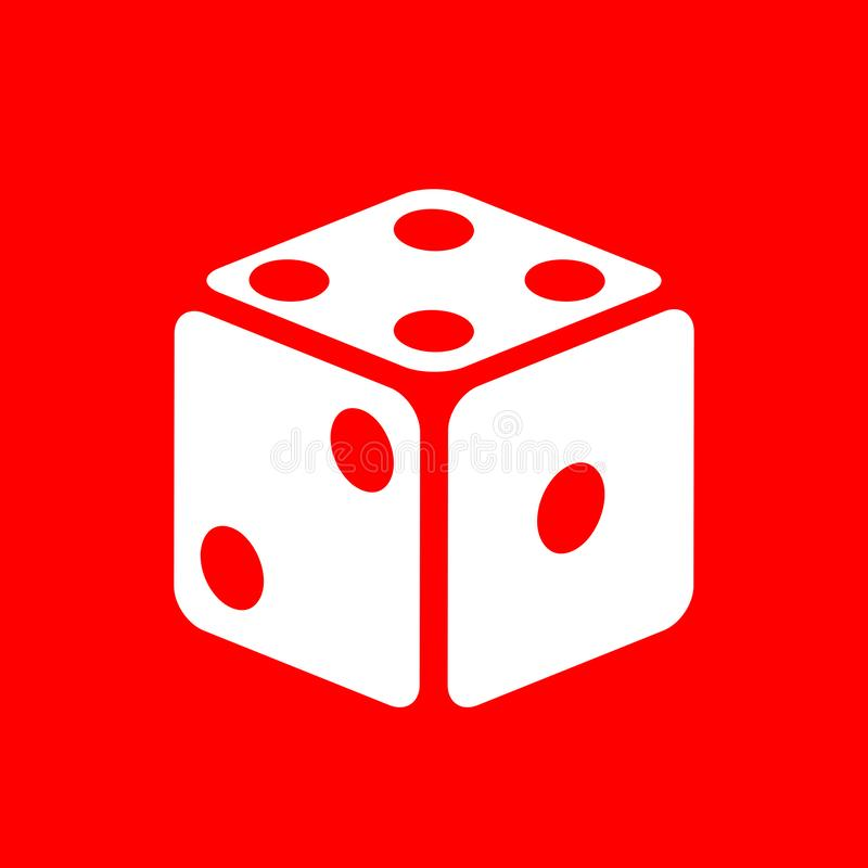 Free Dice Vector Icon Royalty Free Stock Photography - 129672517