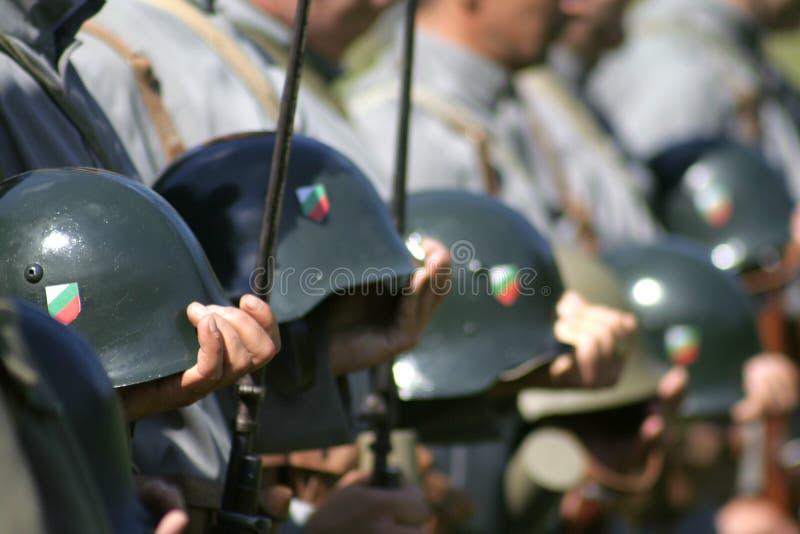 Dicer militar fotos de archivo libres de regalías