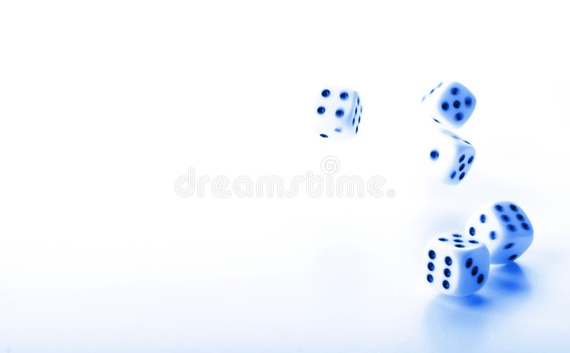 Download Dices stock photo. Image of investment, blue, finance - 15206400