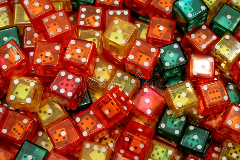 dices obrazy royalty free