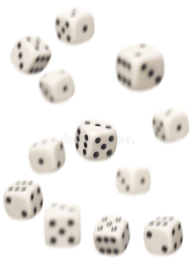 dices spadać zdjęcie royalty free