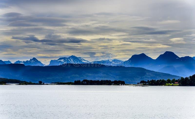 Dicha escandinava del océano foto de archivo