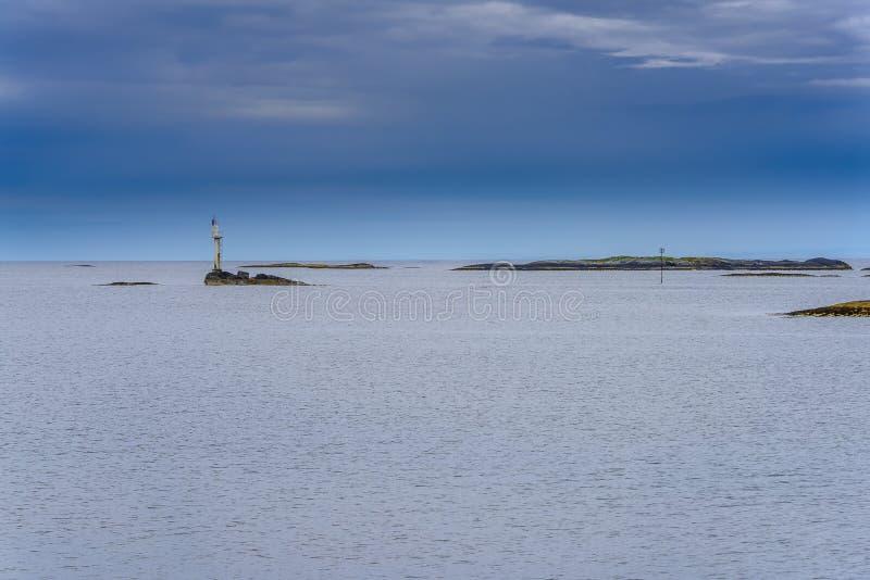 Dicha escandinava del océano fotografía de archivo