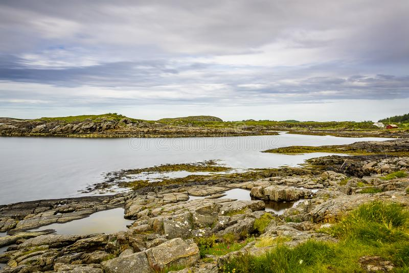 Dicha escandinava del océano imágenes de archivo libres de regalías