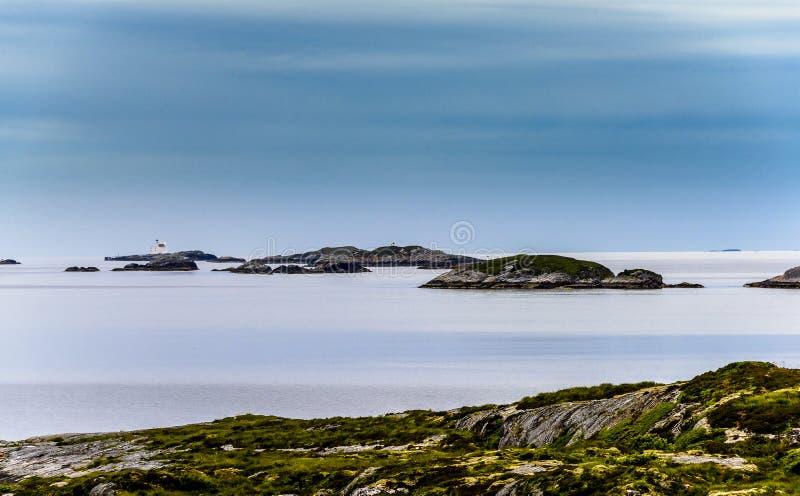 Dicha escandinava del océano imagen de archivo