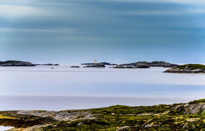 Dicha escandinava del océano fotos de archivo