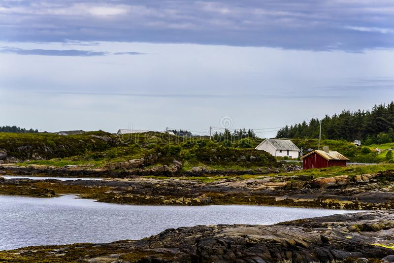 Dicha escandinava del océano fotografía de archivo libre de regalías