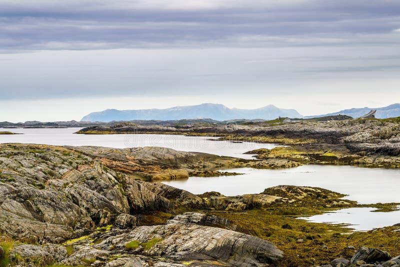Dicha escandinava del océano foto de archivo libre de regalías