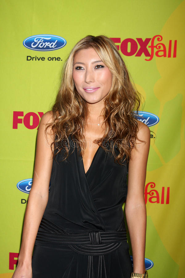 Dichen Lachman. Arriving at the FOX-Fall Eco-Casino Party at BOA Steakhouse in West Los Angeles, CA on September 14, 2009 stock photos
