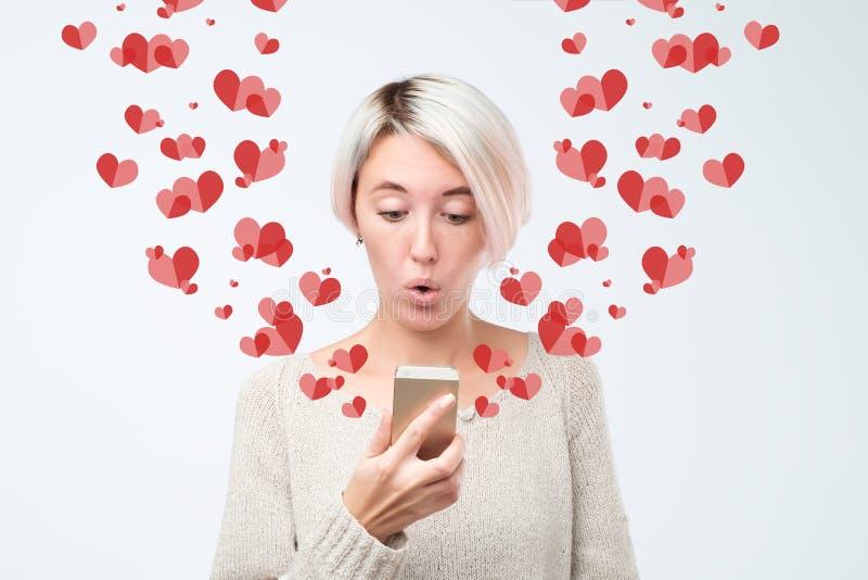Dichiarazione del concetto di amore  fotografie stock libere da diritti