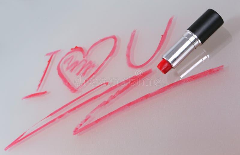 Dichiarazione di amore immagine stock libera da diritti