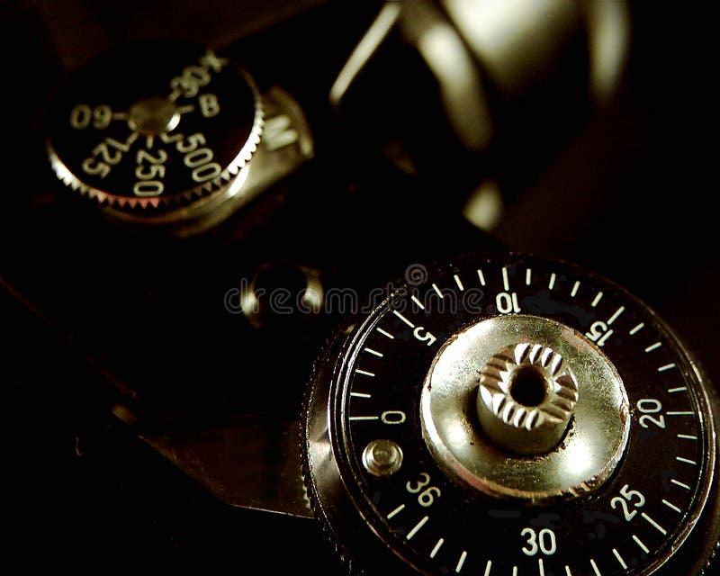 Dicht Detail Op Een Camera Stock Foto