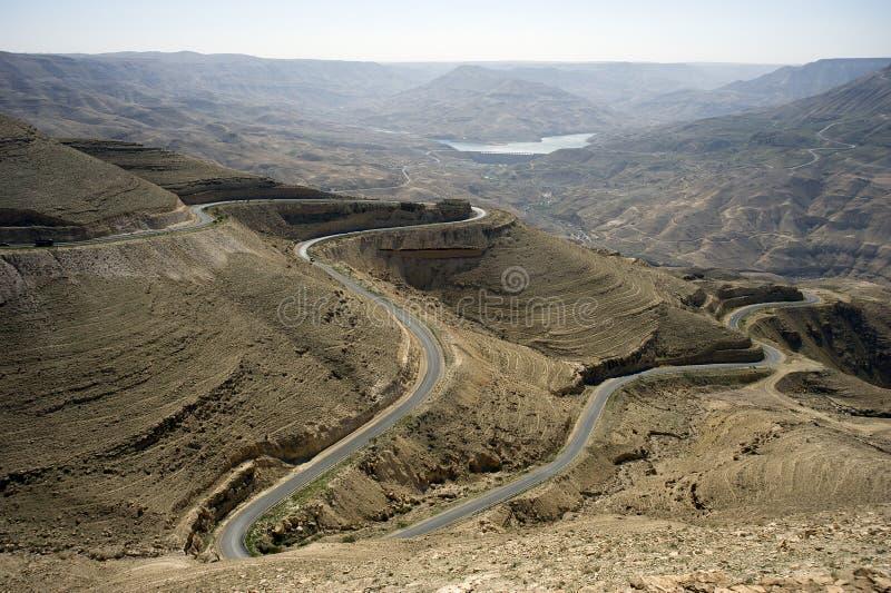 Dichtbij Amman. Jordanië royalty-vrije stock afbeelding