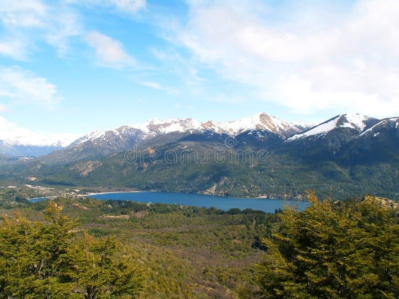 Dichtbij Bariloche royalty-vrije stock foto's