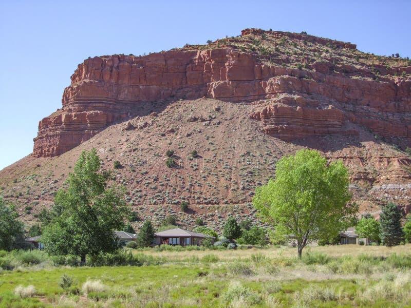 Dichtbij Bryce Canyon stock afbeeldingen