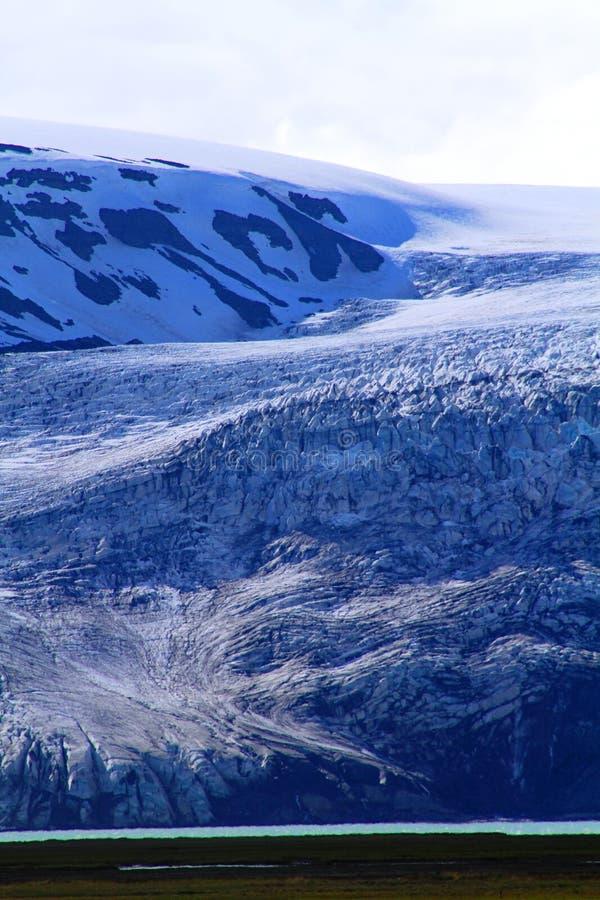 Dichtbij Hvitarnes-hut, IJsland stock fotografie