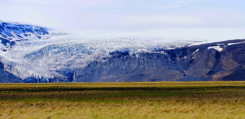 Dichtbij Hvitarnes-hut, IJsland stock afbeelding