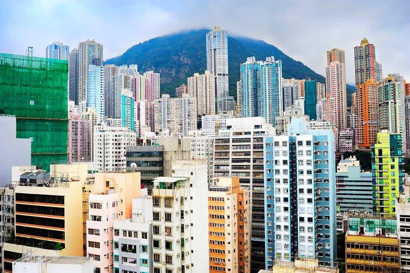 Dichte Hong Kong stockfotografie