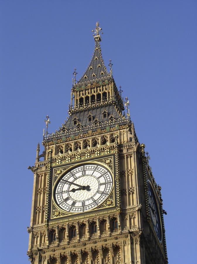 Dichte omhooggaand van de Big Ben stock afbeelding