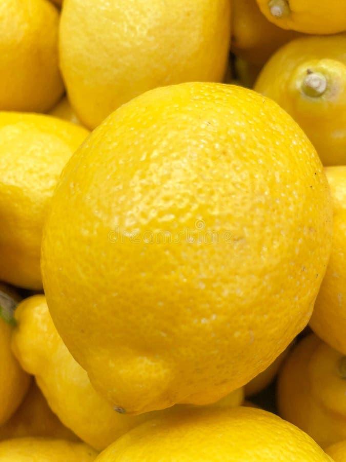 Dichte omhooggaand van de citroen stock afbeelding