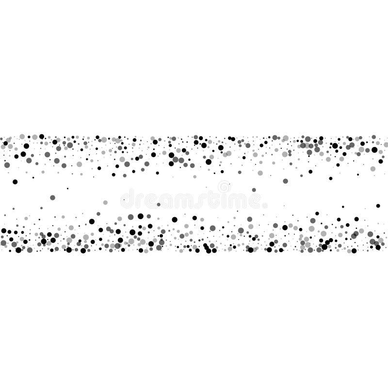 Dichte schwarze Flecke vektor abbildung