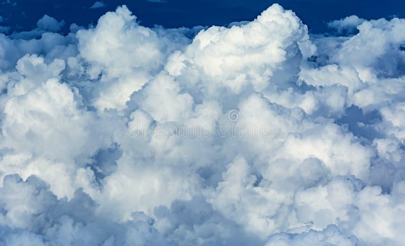 Dichte Wolken stockfotos