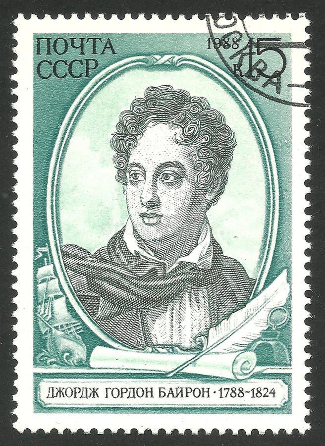 Dichters en schrijvers, Lord Byron royalty-vrije stock fotografie