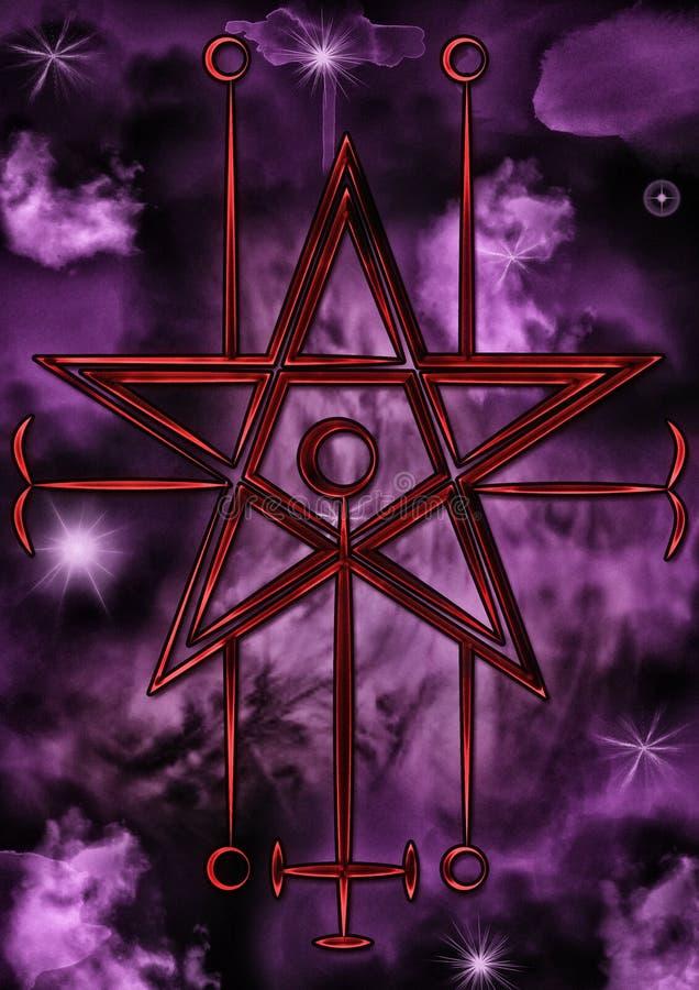 Dichtung von Astaroth stock abbildung