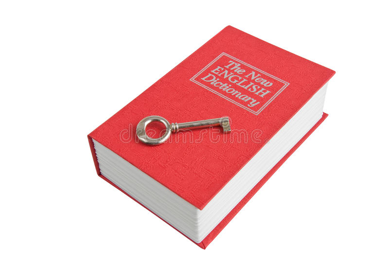 Dicionário imagens de stock