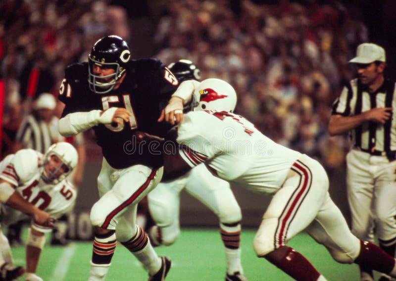 Dick Butkus Chicago Bears stock afbeelding