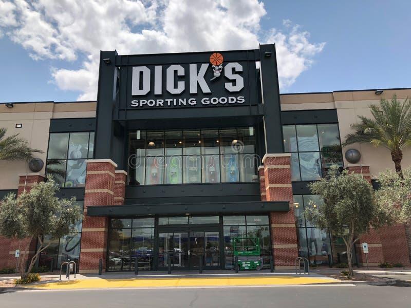 Dick-` s Sport- Waren lizenzfreies stockfoto