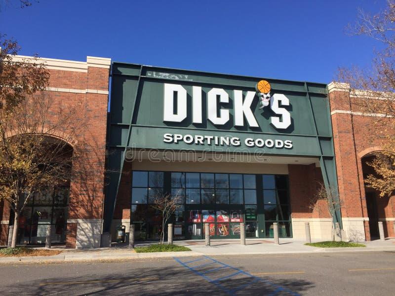 Dick-` s Sport- Waren stockfoto