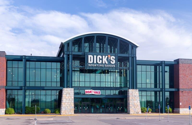 Dick' Sport- Waren s außen lizenzfreie stockfotografie