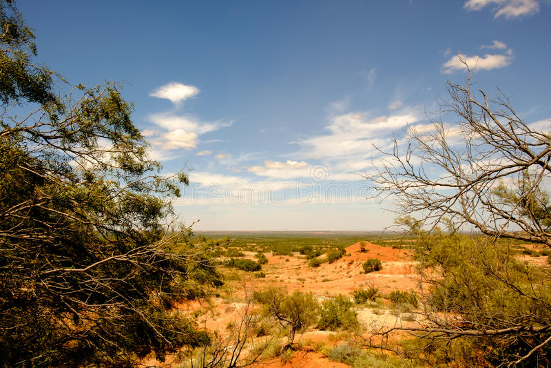 Dickens County, Texas imagem de stock royalty free