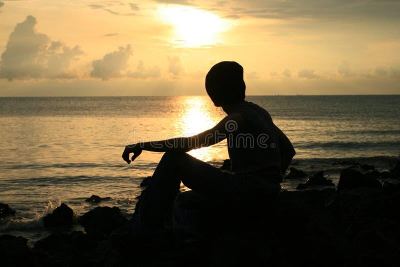 dickson portu słońca fotografia stock