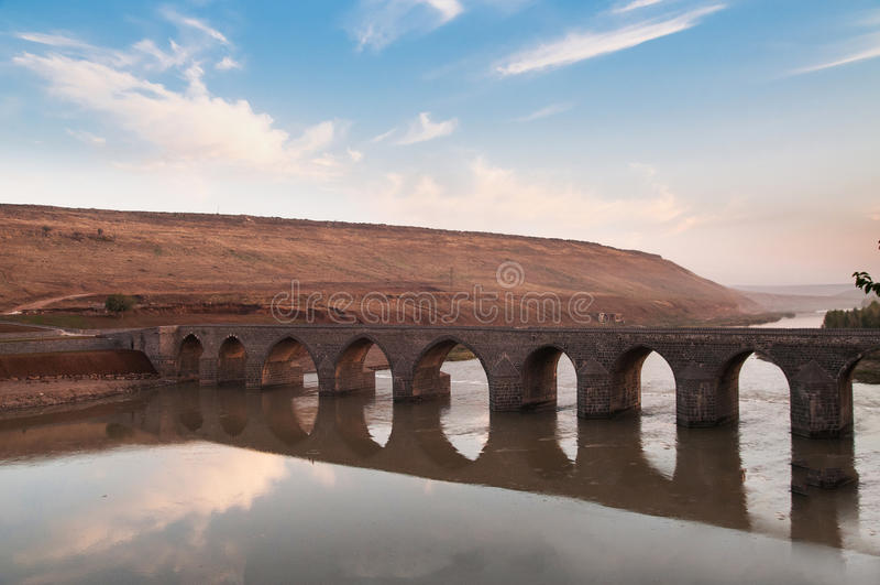 Dicle bridge stock images