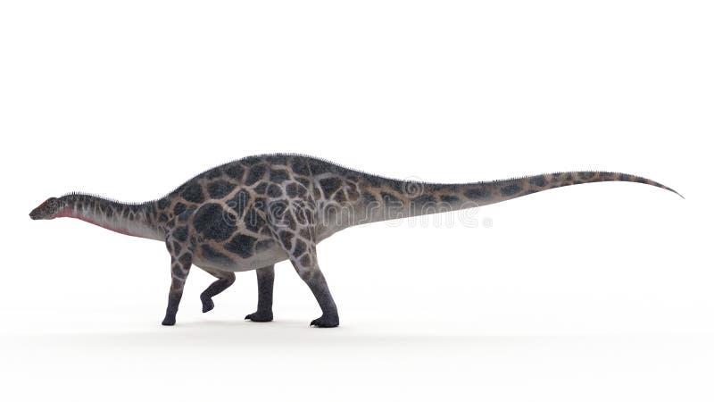 Dicraeosaurus royaltyfri illustrationer