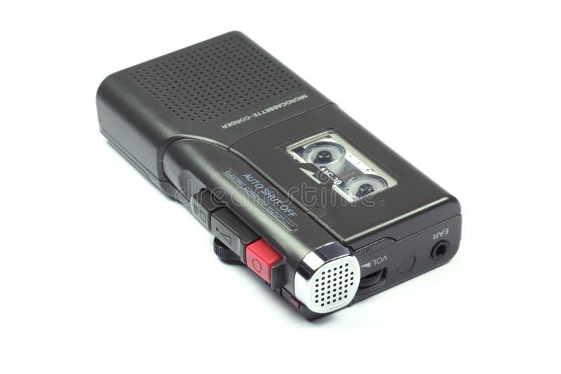 Dictáfono fotografía de archivo libre de regalías