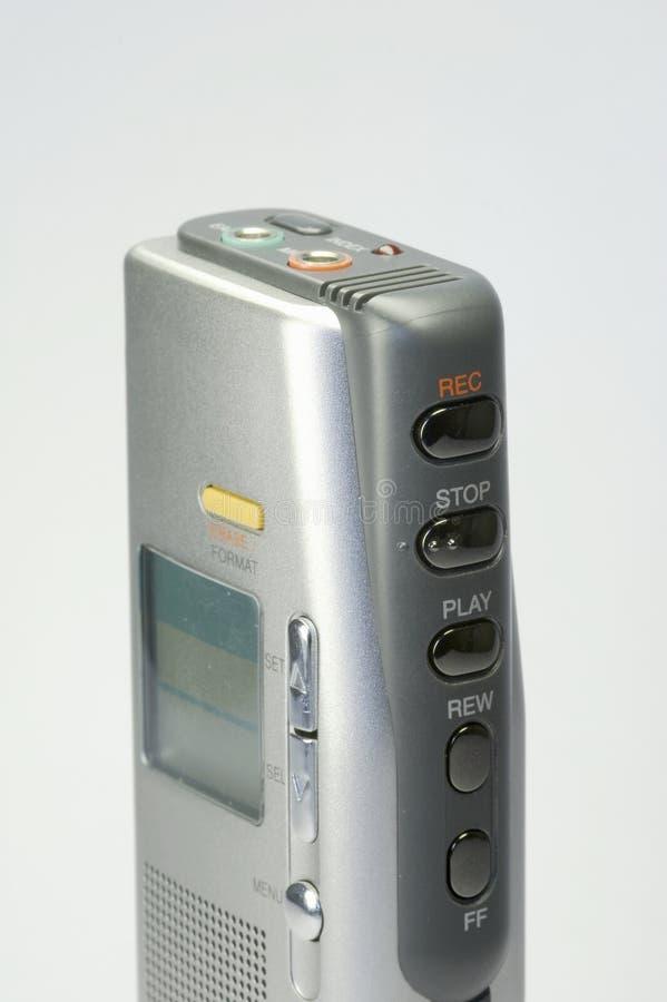 Dictafoon 01 royalty-vrije stock fotografie
