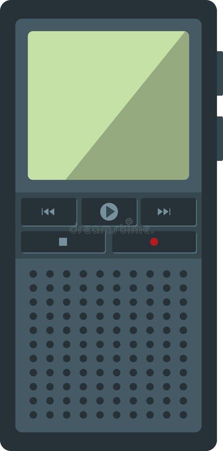 dictaphone illustration libre de droits